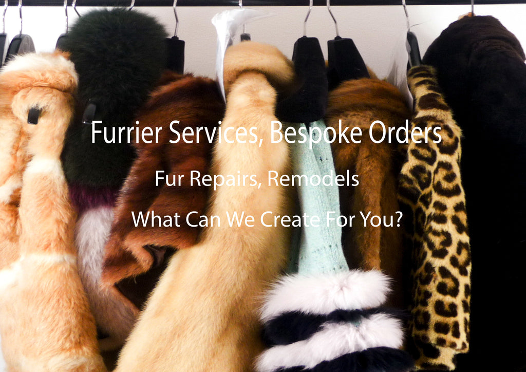 furrier services, bespoke orders, fur repairs, remodels