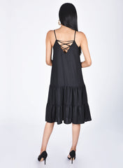 Cara Open Back Dress