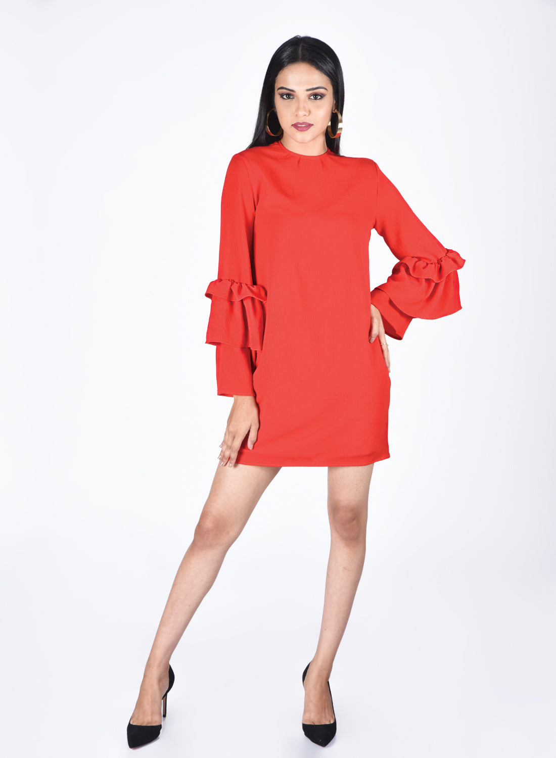 Alfie Red Dress