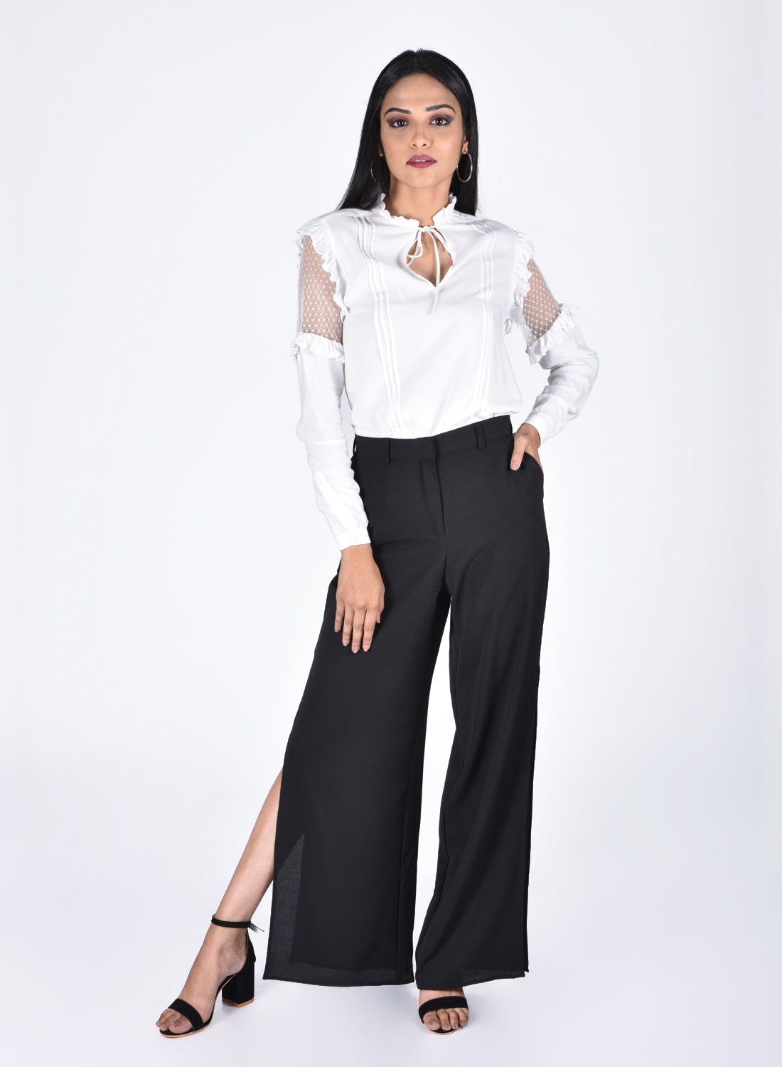 Culottes with Side Slit