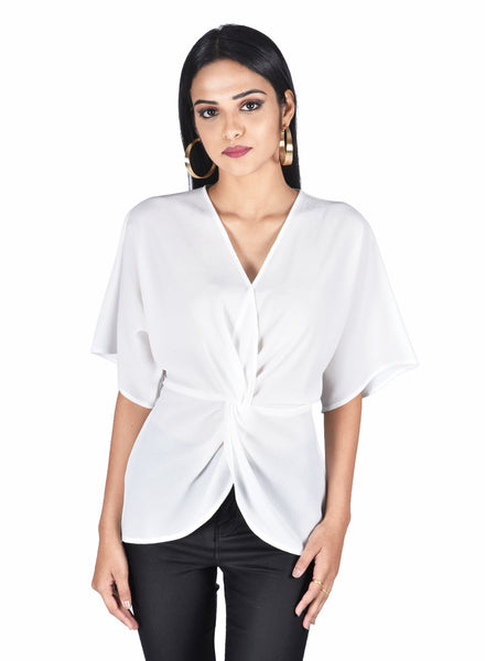 Cross Draped top