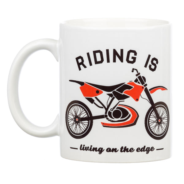 Riding Is...Living on the edge