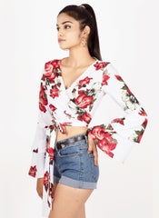 Floral Mix It Up Top