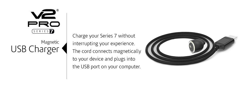 Buy V2Pro Series 7 Magnetic USB Charger Cord in India. vape.co.in