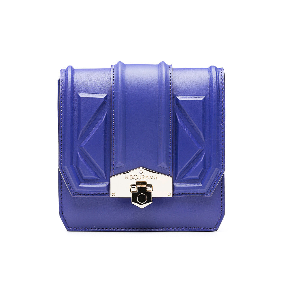 hibourama Bag Dolly Triangle Purple front