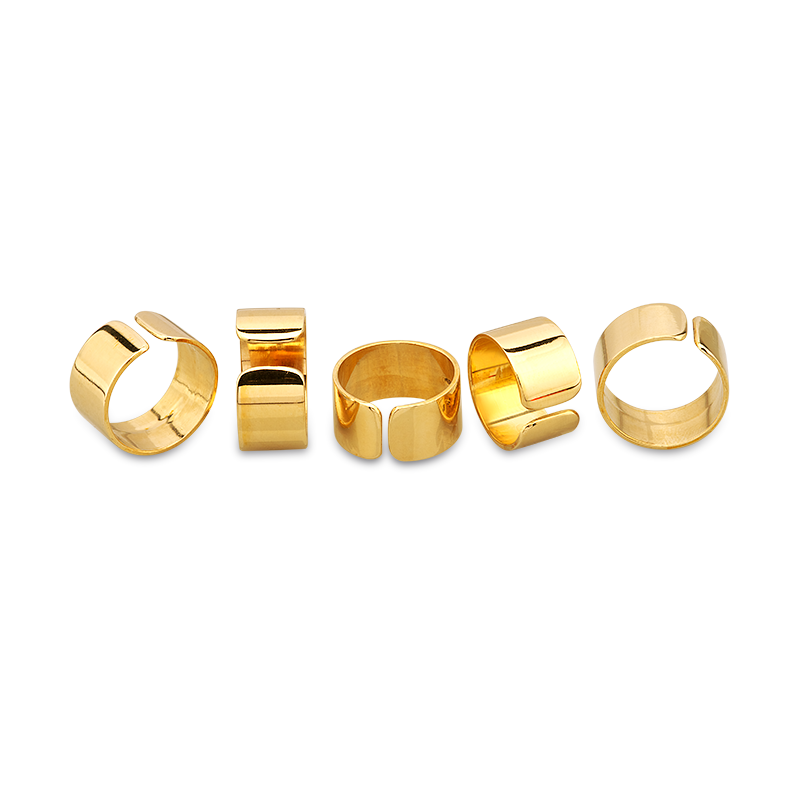 Mvp Creations Flat Bronze rings Set
