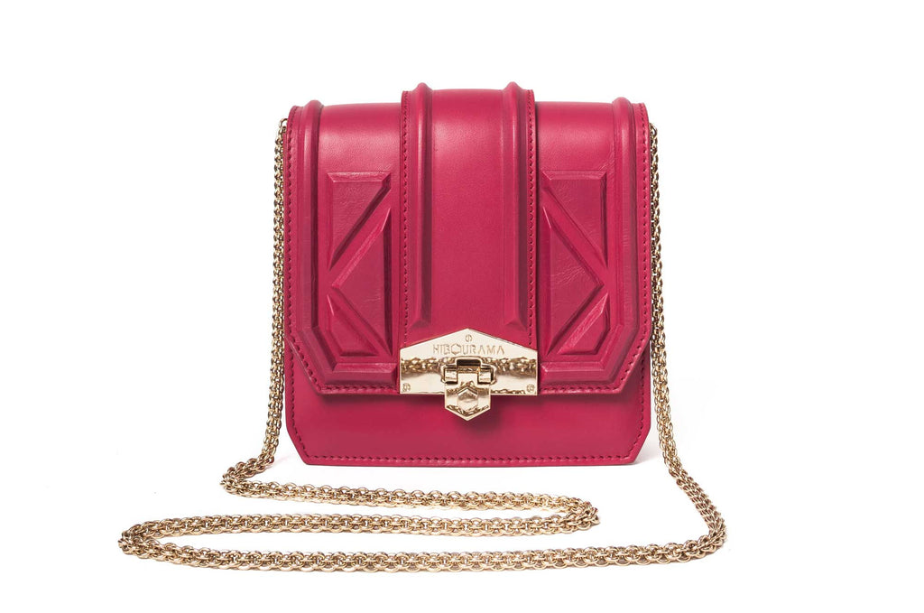 hibourama Bag Dolly Triangle Cherry