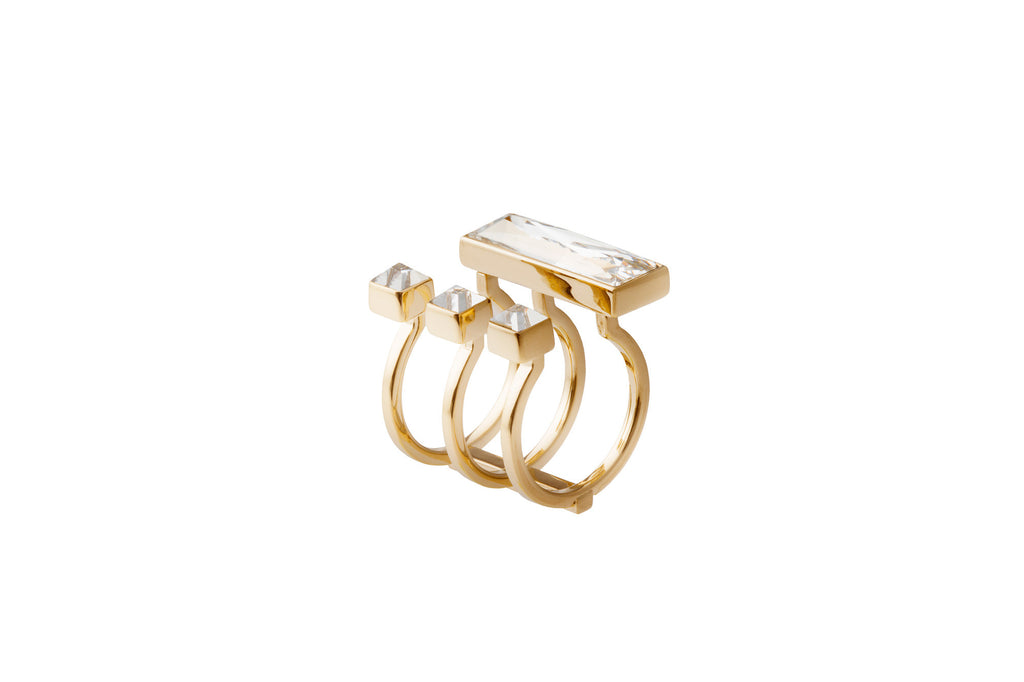 May Moma fay baguette ring