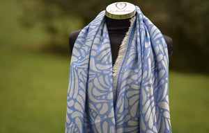 Petalon deep blue Scarf