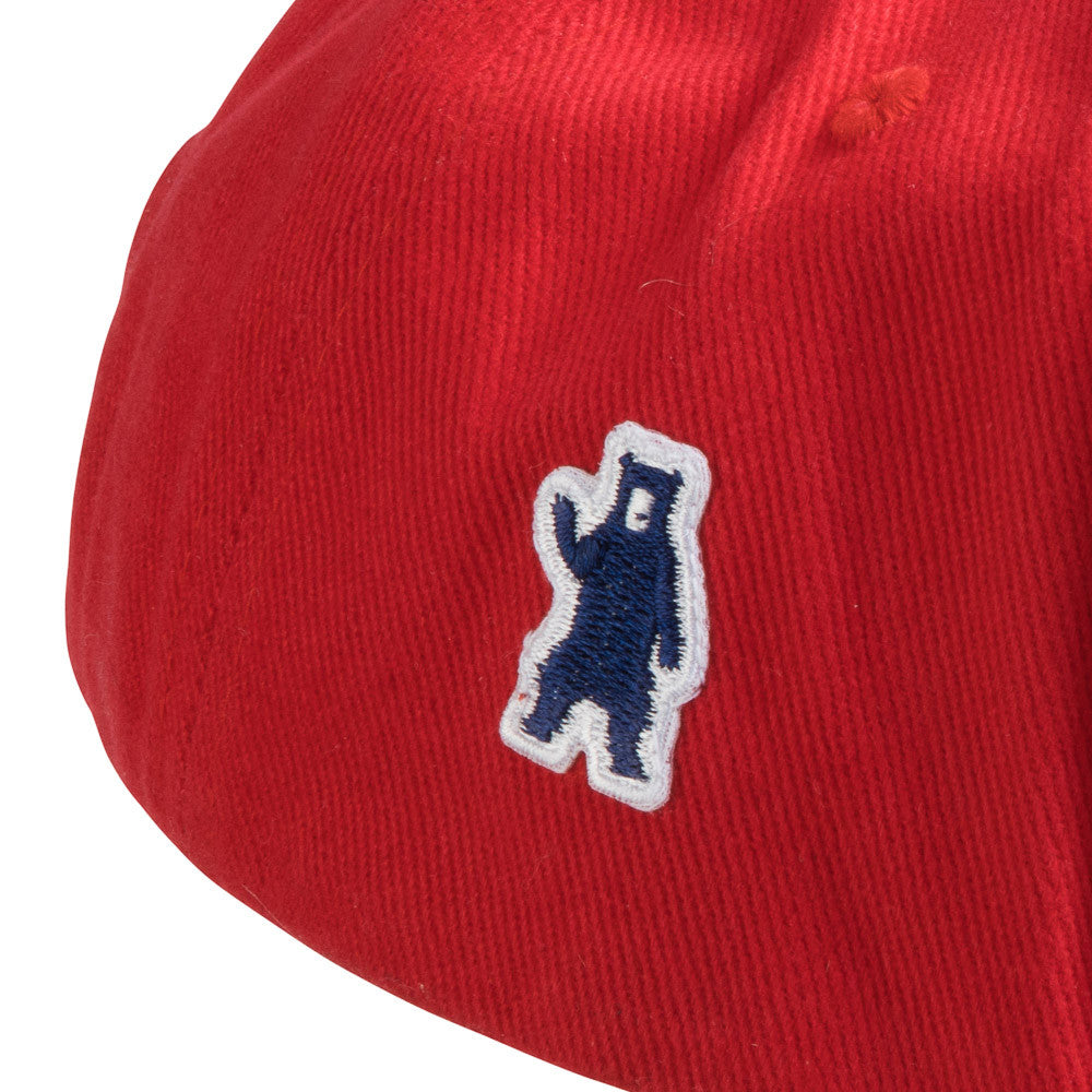 signature embroidered bear in blue
