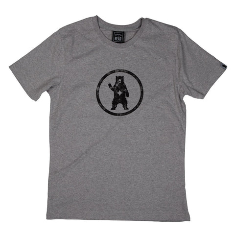 Grey BEAR Logo T-shirt