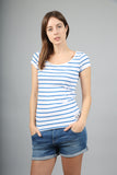 The Henley Blue Striped T-Shirt