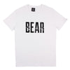 White BEAR Logo T-shirt