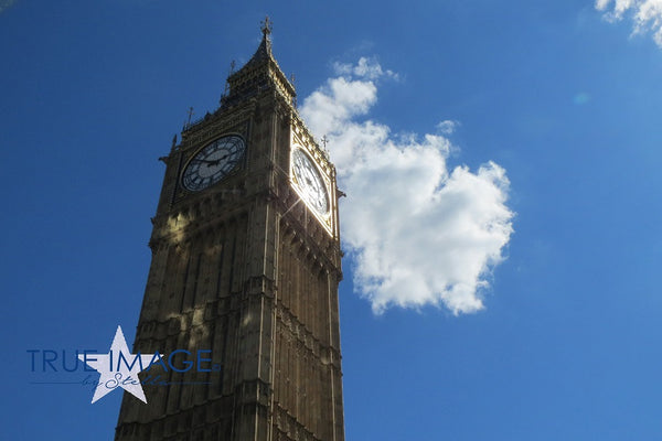 Big Ben in the sun - London, England, United Kingdom
