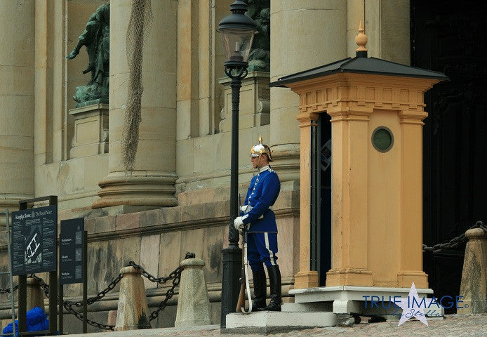 The Royal Guard - The Royal Palace, Stockholm, Sweden