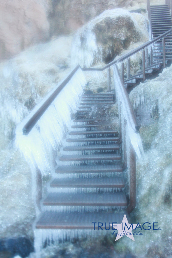 Icy Stairs - Iceland