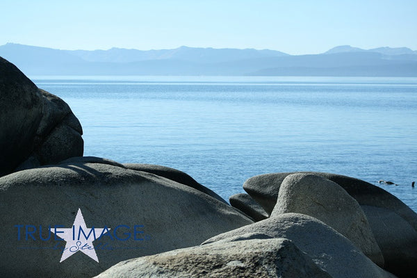 Beach Rocks - Lake Tahoe, Nevada, USA