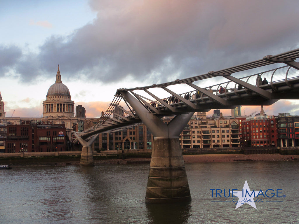 Millennium Bridge - London, England, United Kingdom