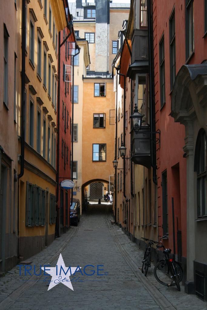 Narrow Alleyway - Stockholm Old Town, Sweden