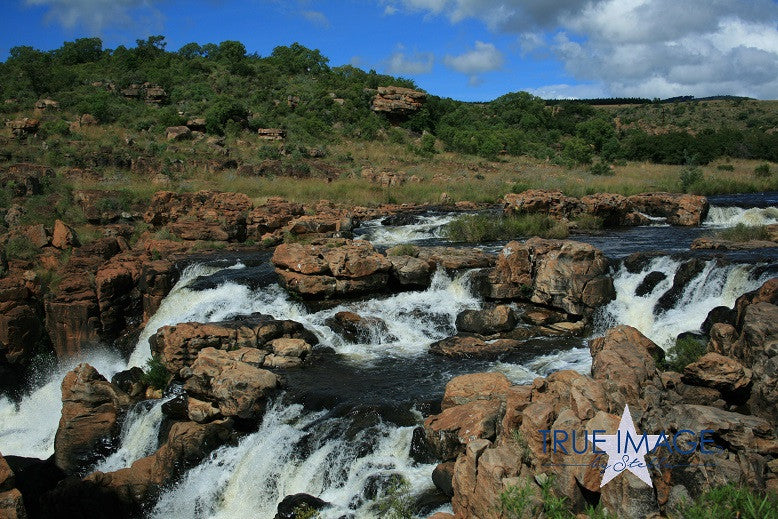 Stream at Bourkes' Luck Potholes - South Africa