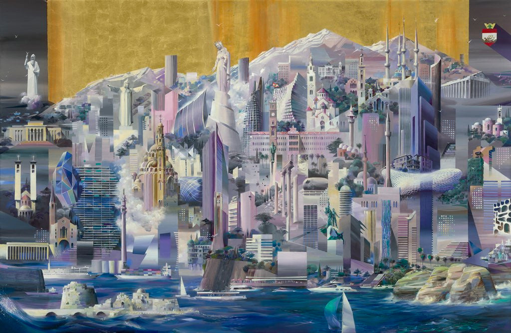 Billich to launch iconic painting of Beirut