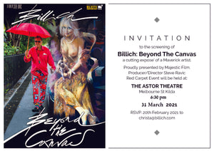 Date Changed to 31st March for Billich Film Screening in Melbourne