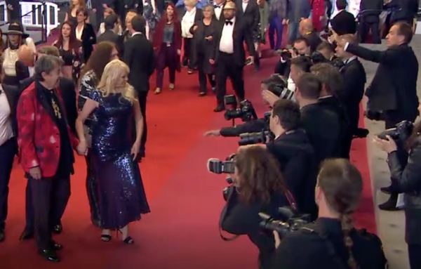 Charles and Christa Billich Cannes 2018 Red Carpet