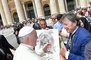 Our Billich meeting Pope Francis in Rome