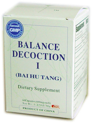 bai hu tang (Balance Decoction I)