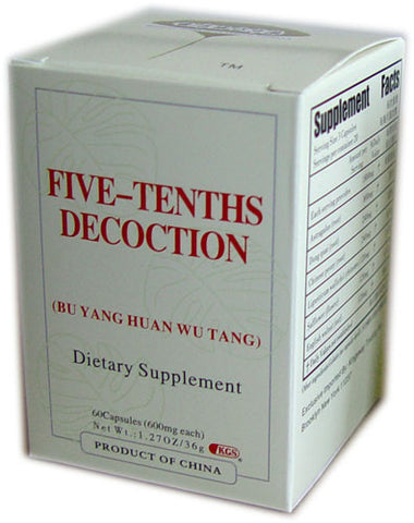 bu yang huan wu tang (Five-Tenths Decoction)