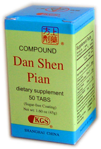 Compound Dan Shen Pian (Compound Salvia Tablet)