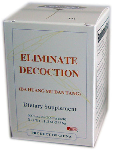 da huang mu dan tang (Eliminate Decoction)