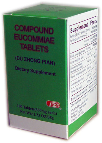 du zhong pian (Compound Eucommiae Tablets)