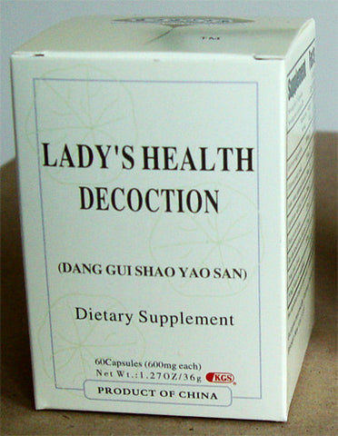 Dang Gui Shao Yao San (Lady's Health Decoction)