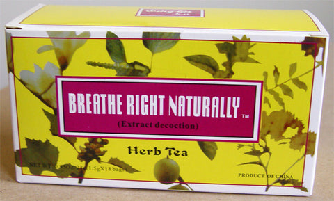 Breathe Right Naturally Herb Tea