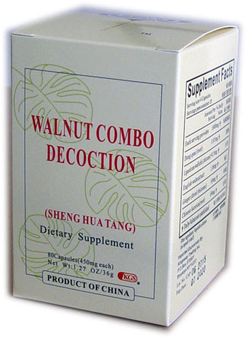sheng hua tang (Walnut Combo Decoction)