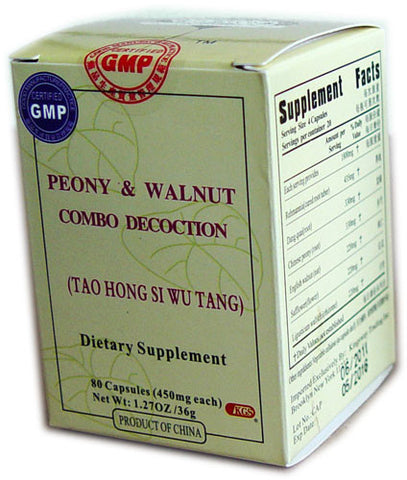 tao hong si wu tang (Peony & Walnut Combo Decoction)