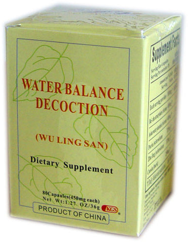 wu ling san (Water Balance Decoction)