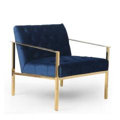 Havana Natural brushed velvet   contemporary Occasional armchair Mod 077