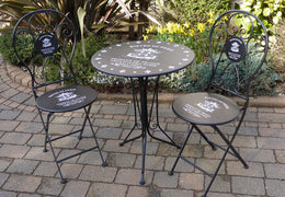 Paris Bistro set Table plus 2 chairs