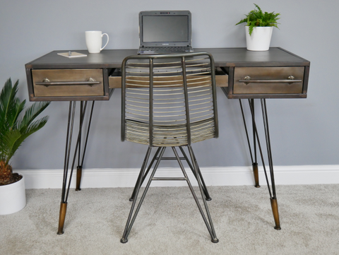 Retro desk on special clearance offer  click n collect