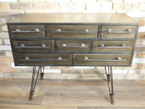Industrial Cabinet / TV unit . CLEARANCE OFFER  Click N Collect