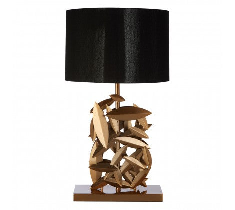 Zilli  gold  table lamp