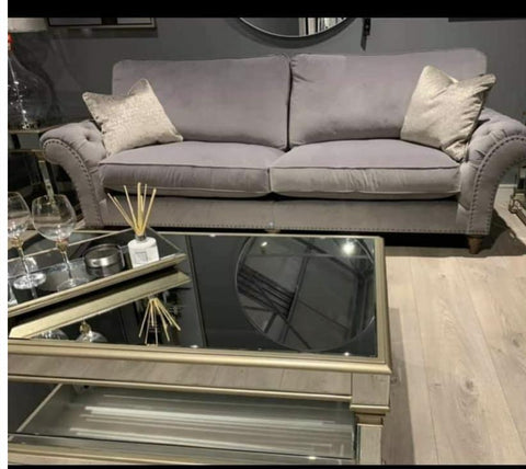 Appian Mirror Champagne   Coffee Table