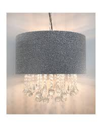 Glitz SilverGlitter  Versailles Ceiling light CLEARANCE OFFER Click N Collect