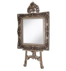 Antiqued Easel  Champagne
