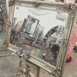 Antiqued Easel  wooden