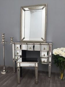 Ava Mirror Dressing  Vanity table  with  7 drawers  121