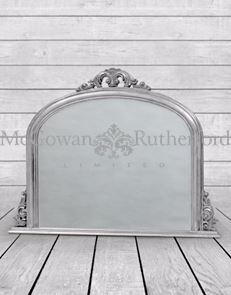 Overmantle Silver Classic Mirror