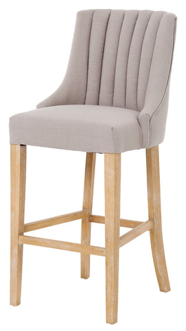 Nico Bar Chairs  in 2 colours Natural
